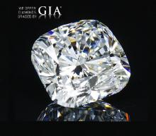 10.02 ct, Color I, VS1, Cushion cut GIA Graded, Appraised Value: $ 1,136,300