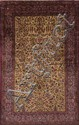 A Kashan carpet, central Persia