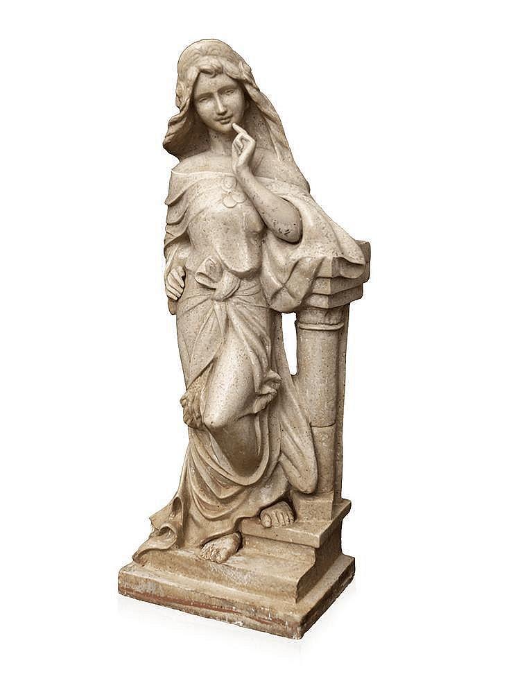 An Italian marble figural sculpture