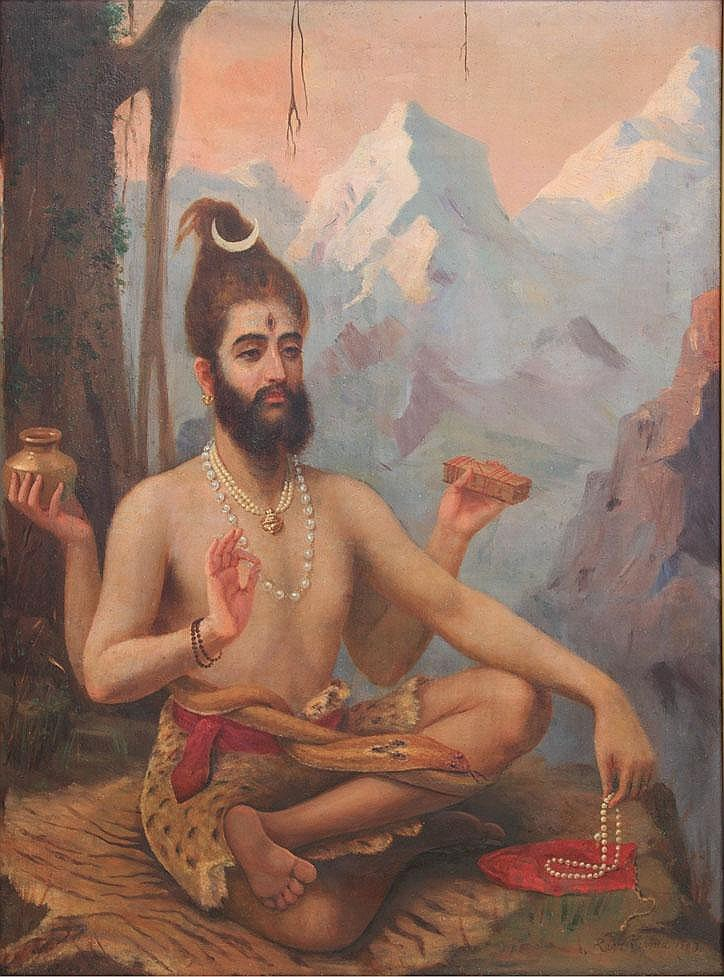 Raja Ravi Varma (1848-1906), Shiva