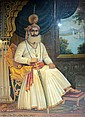 KHAN SHID ALI, A signed portrait of a ruler of Mewar