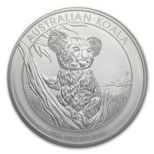 Fine Silver - 1 kilo - 2015 Australia Koala BU