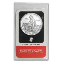 Fine Platinum Bar - 1 oz - Engelhard Prospector (In Assay)