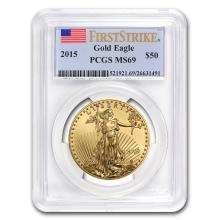MS-69 PCGS?- 2015 1 oz Gold American Eagle