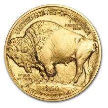 Brilliant Uncirculated American Buffalo 1 oz Gold (Random Year)