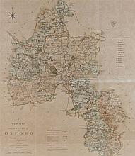 A New map of the County of Oxford, Printed for C S