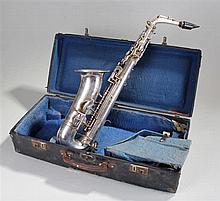 J.R. La Fleur & Son saxophone, 147 Wardour Street