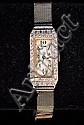 14K WHITE GOLD & DIAMOND HAAS NEVEUX WATCH