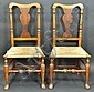 PAIR OF NEW ENGLAND QUEEN ANNE CHAIRS