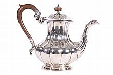 BIRKS STERLING SILVER COFFEE POT