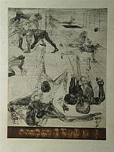 Rudlauer?, Jan - ''Perspektive No. 3'', Lithografie, signiert, nummeriert 1