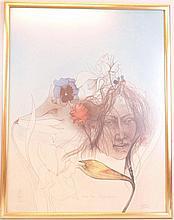 Bruni, Bruno (* 1935) - ''Come la Primavera'', Farblithographie, signiert u