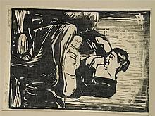 Lippmann, Karl Friedrich(1883-1957 Offenbach) - ''Mutter mit Kind'', Holzsc