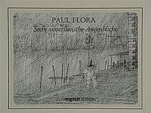 Flora, Paul (1922-2009) - ''Sechs venezianische Augenblicke'', 6 Farboffset