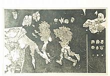 Unbekannt - Opodo -1966 undeutl. signiert und nummeriert ''7/10'', ca. 43x6