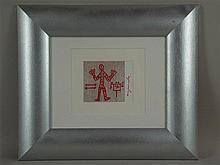 Penck, A. R. - ''Standart'', 1973, Multiple, handsigniert, ca. 12x10 cm, me