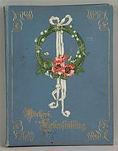 Rückert, Friedrich - Liebesfrühling, Leipzig ca. 1900, mit zahlreichen, tei