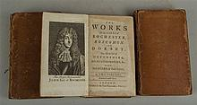 Konvolut Englische Literatur 18. Jh. - 3-tlg: The Works of the Earls of Roc