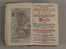 Gaius Plinius Caecilius Secundus(Plinius der Jüngere)-Caecilii Secundi Epis