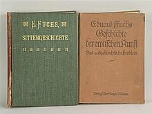 Konvolut Eduard Fuchs - Geschichte der erotischen Kunst, Albert Langen, Mün