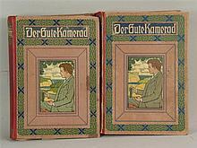 Der gute Kamerad - 1890 2 Bände Folge 34 und 35, mit zahlreichen Illustrati