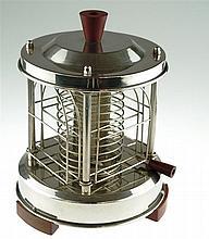 Karusell-Toaster - Saluta, Typ 584 Nr. 49, Ende 1920er/30er J. , zylindrisc