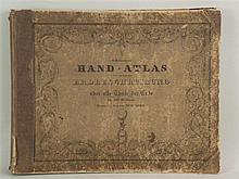 Sohr, K. - Handatlas, 80 Karten in Stahlstich grenzkoloriert, C. Flemming G