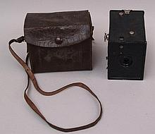 Camera Agfa in leather box