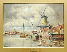 Louis van Staaten (Dutch, 1836?1909), Near Middleburgh, Watercolor