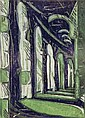 Ursula Fookes (1906-1991) The Cloister II three