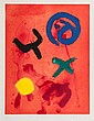 John Hoyland (1934-2011) Flying Wild etching with