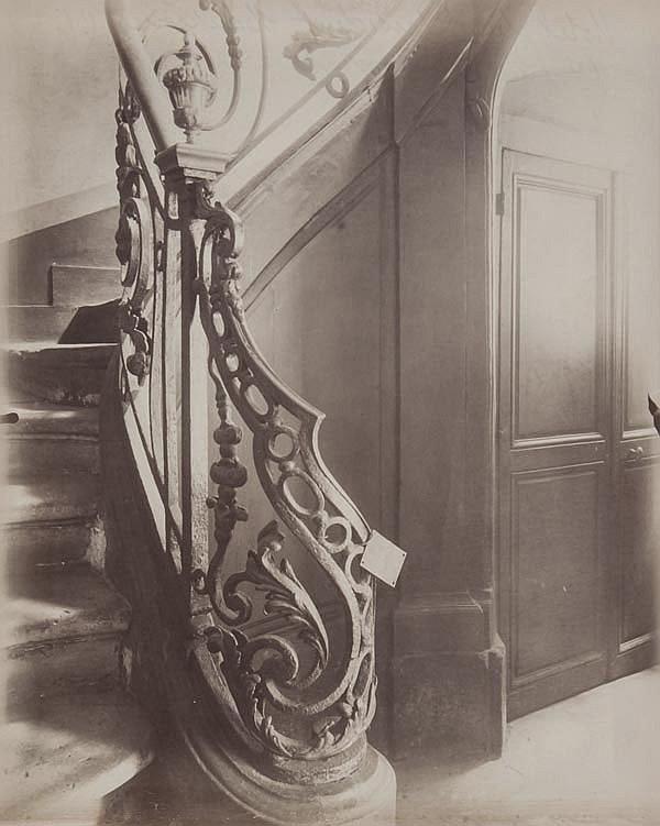 Eugène Atget (1857-1927). Hotel du Président