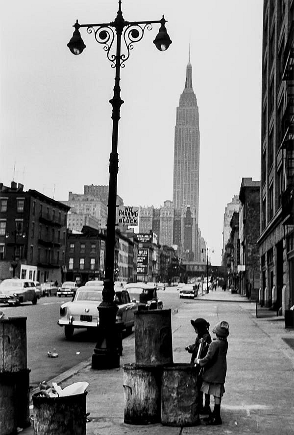 DDS Edouard Boubat (1923-1999). New York, 1953.