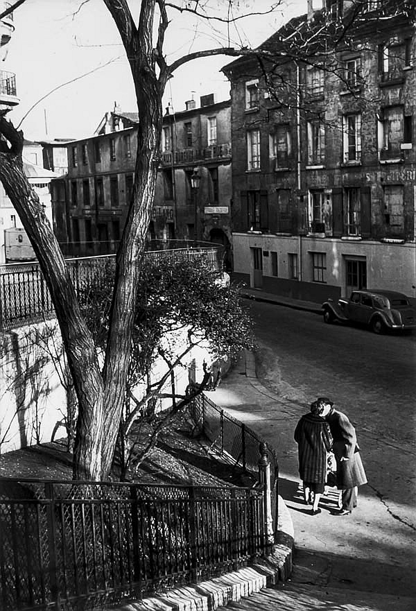 DDS Willy Ronis (1910-2009). Rue de la Clef, 1958.