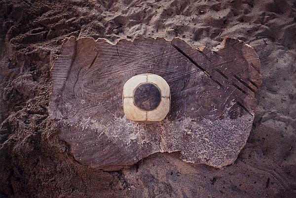 Gabriel Orozco (1962). Dot Ball, 2006. Chromogenic
