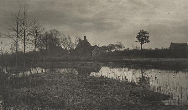 Peter Henry Emerson (1856-1936). Evening, Plate
