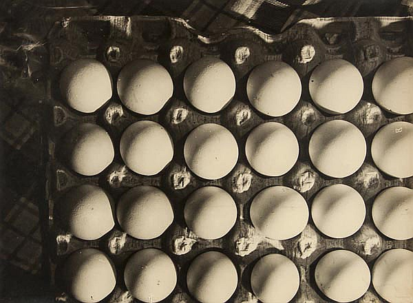 Photographer Unknown. Eggs, 1930s. Gelatin silver