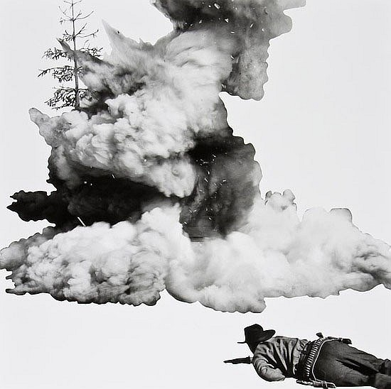 John Baldessari (b.1931) Smoke, Tree, Shadow and