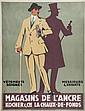 MOOS, Carl (1878-1959) MAGASINS DE L'ANCRE