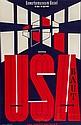 RICK, Numa (1902-1973) USA lithograph incolours,