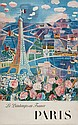 DUFY,Raoul (1877-1953) PARIS offset lithograph in