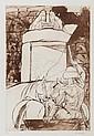 DDS. Dame Elisabeth Frink (19030-1993) Agamemnon