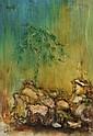 Ji Tianbin Mountain Stone III, 2012 oil on