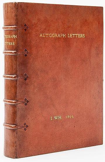 Cockerell (Douglas).- Autograph Letters, album