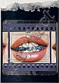 Joe Tilson (b.1928) Clip-o-matic Lips silkscreen