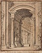 Francesco Panini (1745-1812) View of the interior