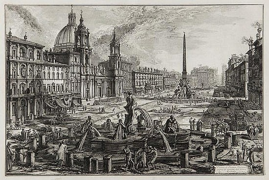 Giovanni Battista Piranesi (1720-1778) Veduta di