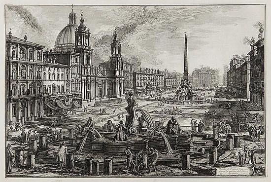 Giovanni Battista Piranesi (1720-1778) Veduta di