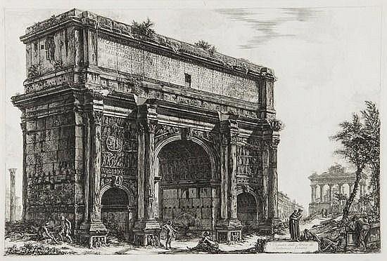 Giovanni Battista Piranesi (1720-1778) Veduta