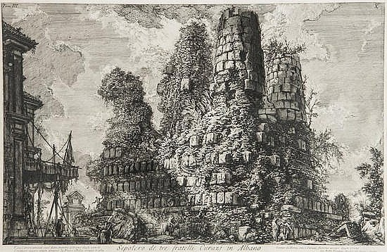 Giovanni Battista Piranesi (1720-1778) Sepolcro de